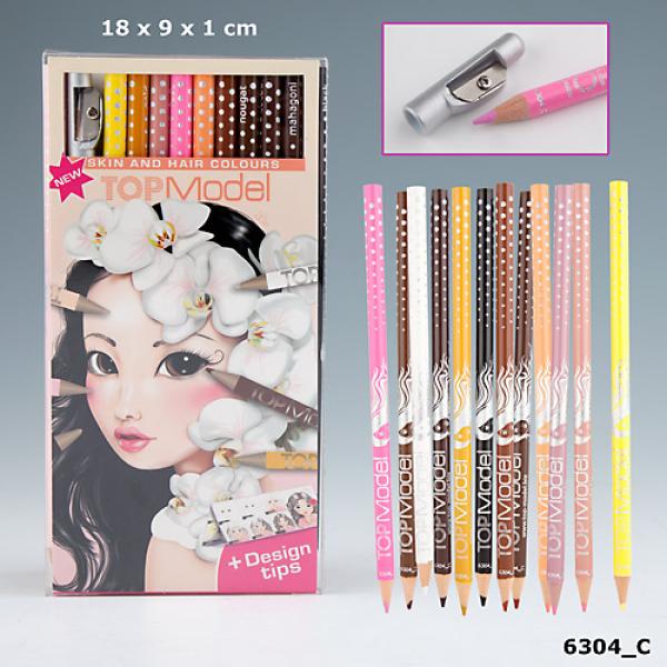 """Цветные карандаши TOP Model """"Цвета волос и кожи"""" 6304_C"""