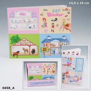 Наклейки к альбомам Creative Studio Sweet Home, Funny Farm и Crazy City - 6658_A