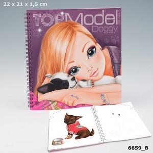 Альбом для раскрашивания TOP Model Sweet Doggy  - 6659_С производства Depesche