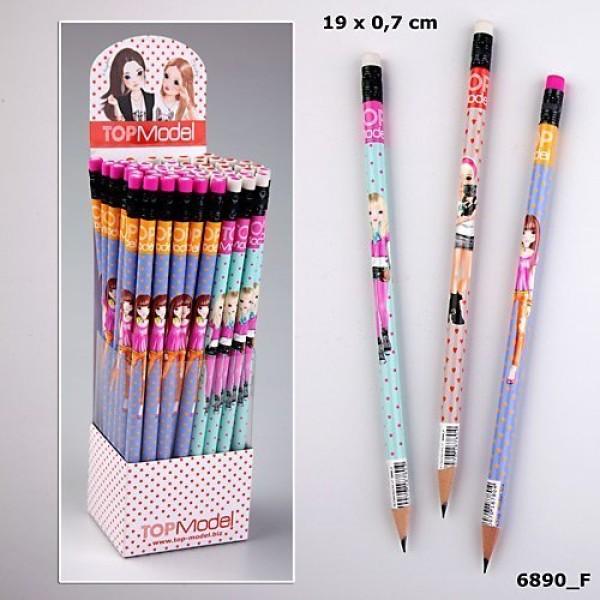 Простой карандаш с ластиком TOP Model 6890 производства Depesche