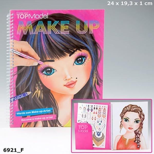 Альбом для раскрашивания Макияж -TOP Model Make Up - 6921_F производства Depesche