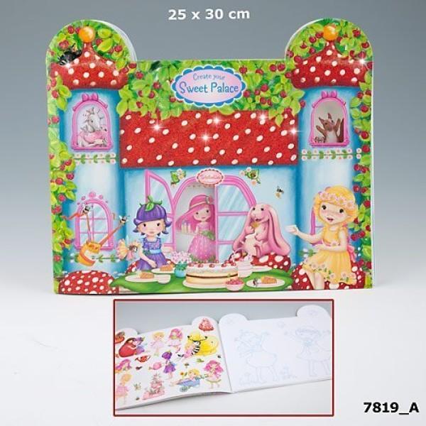 Альбом для раскрашивания Trixibelles Sweet Palace 7819 производства Depesche