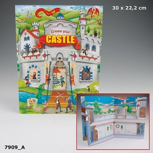 Альбом с наклейками Creative Studio Create Your Castle 7909_A