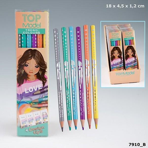 Цветные карандаши TOP Model Trend 7910 производства Depesche