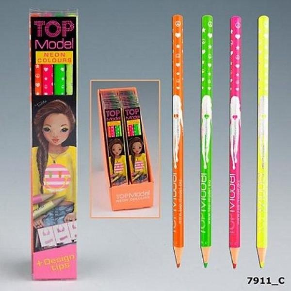 Цветные карандаши TOP Model Neon 7911_С производства Depesche
