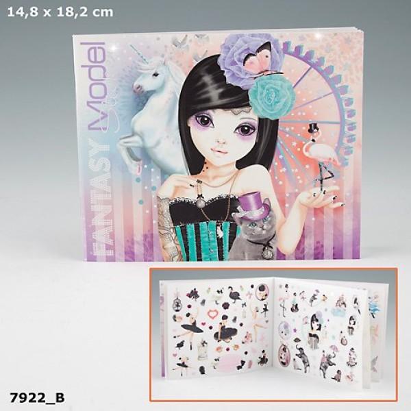 Альбом с наклейками Top Model Fantasy 7922 производства Depesche