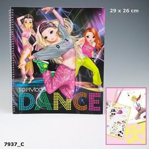 Альбом для раскрашивания Top Model Dance - 7937_C