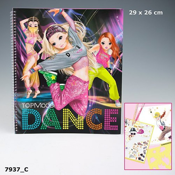 Раскраска Top Model Dance - 7937_C производства Depesche