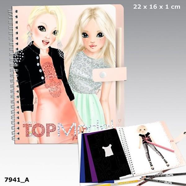 Альбом для раскрашивания TOP Model Magic Fun 7941_A