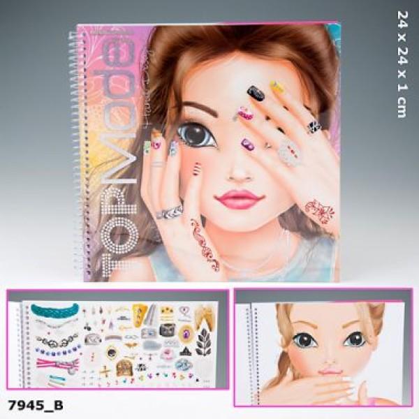 Альбом разукрашка для девочек TOP Model Hand Designer - 7945_B производства Depesche