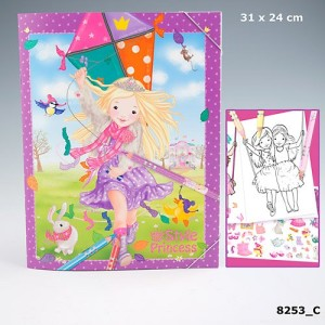Альбом раскраска My Style Princess Princess - 8253_C