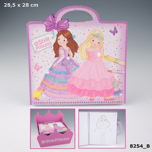Альбом для раскрашивания My Style Princess - 8254_B