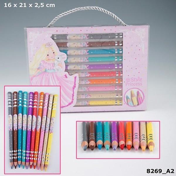Набор цветных карандашей My Style Princess 8269