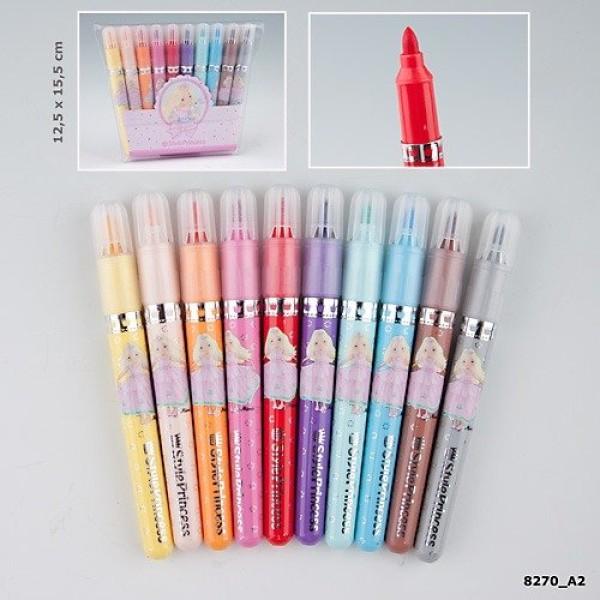 Цветные фломастеры для рисования My Style Princess 8270_A производства Depesche