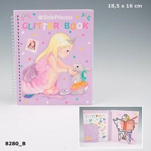 Альбом для раскрашивания My Style Princess Glitter Book - 8280_A