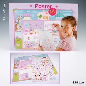 Постер с наклейками My Style Princess 8291