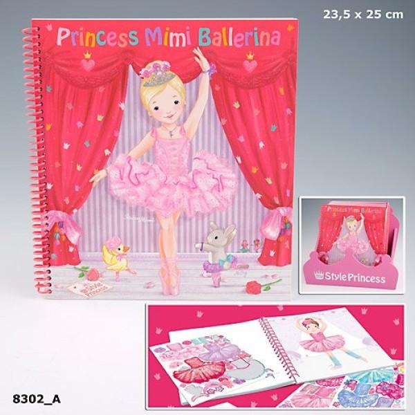 Альбом раскраска My Style Princess Ballerina 8302_A производства Depesche