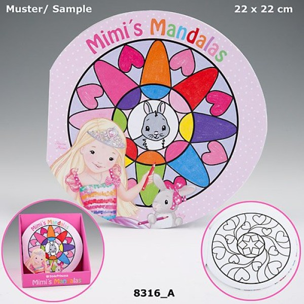 Раскраска для детей My Style Princess Мандала 8316 производства Depesche
