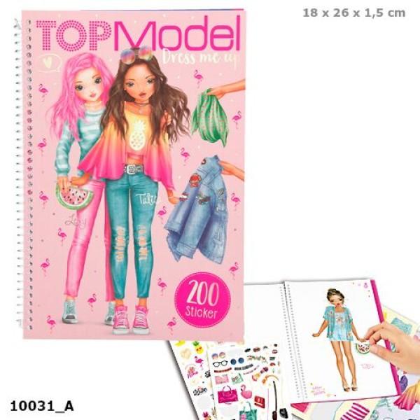 Альбом с наклейками Наряди Меня, Тропики TOP Model - 10031_A