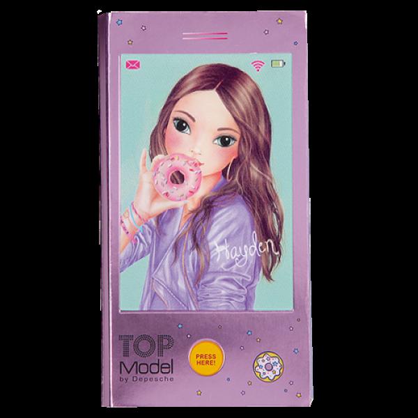 Блокнот для записей Телефон с музыкой TOPModel - 10039_A