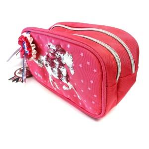 Пенал-косметичка с пайетками, красный Miss Melody - 10059_A производства Depesche
