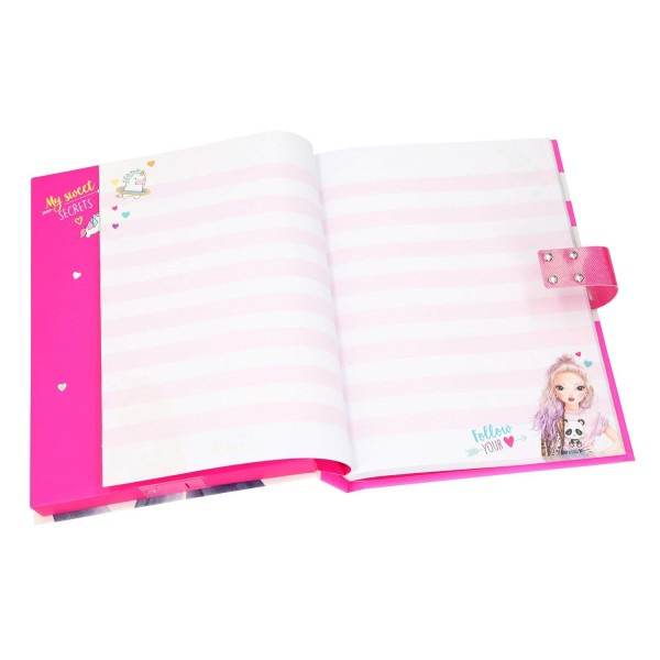Дневник с кодом и музыкой, розовый TOPModel - 10117_A