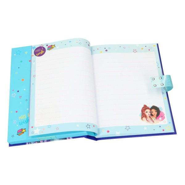 Дневник с кодом и музыкой, синий TOPModel - 10118_A
