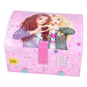 Шкатулка TOPModel с кодом и музыкой, розовая - 10163 производства Depesche