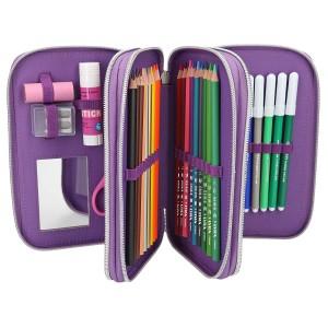 Пенал с наполнением LOVE, фиолетовый TOPModel - 10073_A производства Depesche
