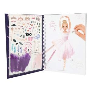 Альбом для раскрашивания Балерина TOPModel Fantasy - 10195_A производства Depesche
