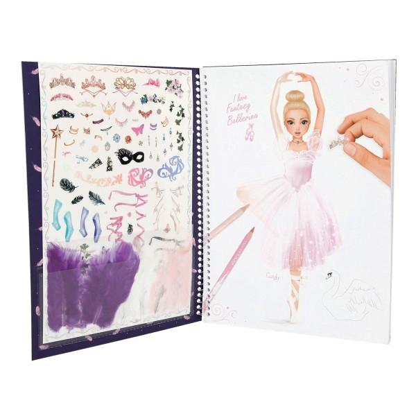 Альбом для раскрашивания Балерина TOPModel Fantasy - 10195_A
