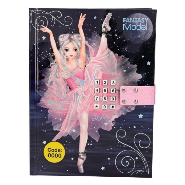 Дневник с кодом и музыкой Балерина TOPModel Fantasy - 10196_A