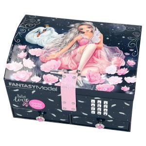 Шкатулка с кодом и музыкой Балерина TOPModel Fantasy - 10197_A