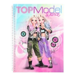 Альбом для раскрашивания Танцы TOPModel - 10202_A