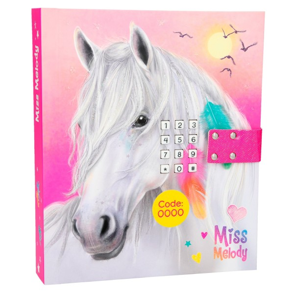 Дневник с кодом и музыкой, розовый Miss Melody - 10237_A производства Depesche