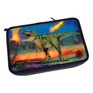 Пенал с наполнением, подсветкой Динозавр Dino World - 10249_A производства Depesche