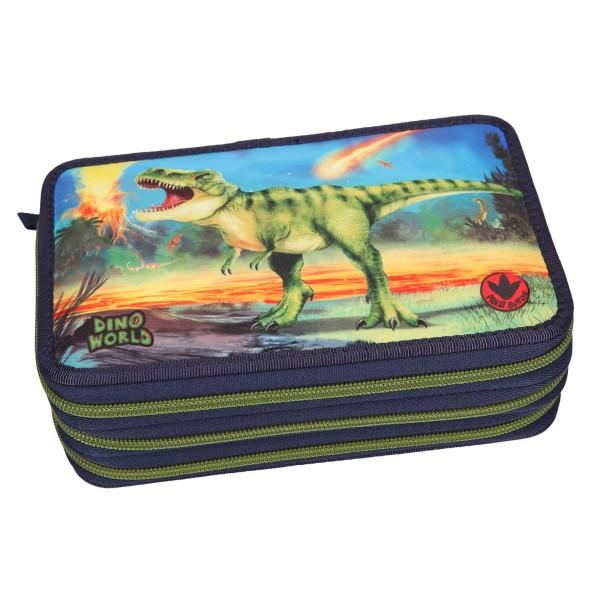 Пенал с наполнением, подсветкой Динозавр Dino World - 10249_A