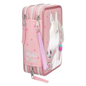 Пенал с наполнением Лошадь, розовый Miss Melody - 10275_A производства Depesche
