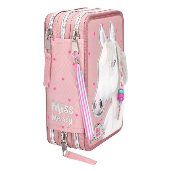 Пенал с наполнением Лошадь, розовый Miss Melody - 10275_A