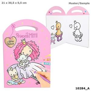 Альбом для раскрашивания Сумочка Princess Mimi - 10284_A