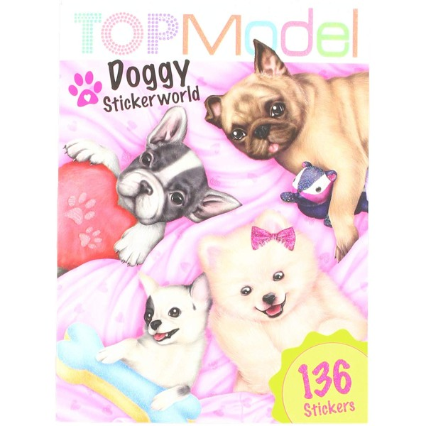 Альбом с наклейками TOPModel Собачки, мини - 10294_B производства Depesche