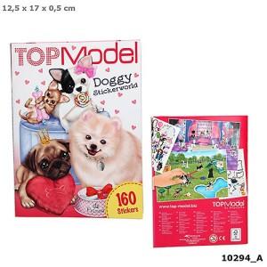 Альбом с наклейками Собачки,мини TOPModel - 10294_А