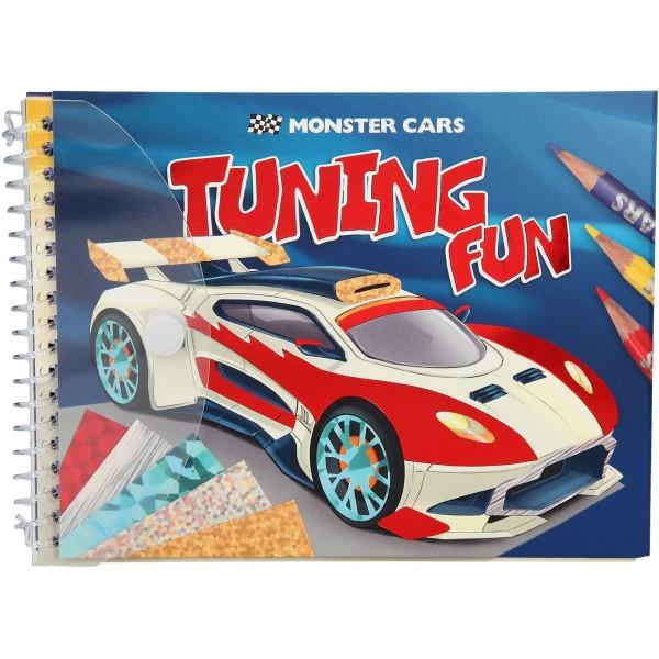 Альбом Monster Cars для творчества с фольгой - 0410300
