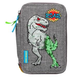 Пенал с наполнением Динозавр Dino World - 10301 производства Depesche