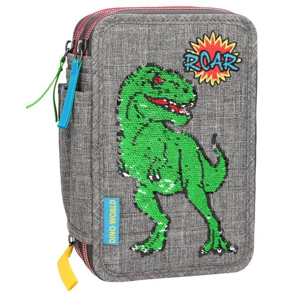 Пенал с наполнением Динозавр Dino World - 10301