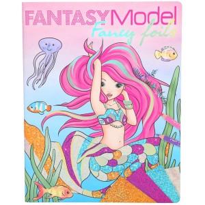 Альбом TOPModel Fantasy для творчества с фольгой - 0410351/0010351