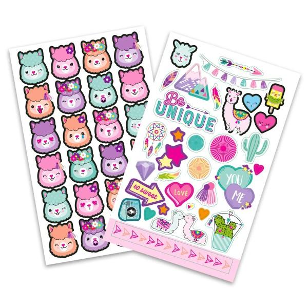 Блокнот с наклейками розовый TOPModel - 10354_A_1