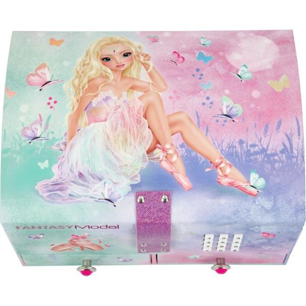 Шкатулка TOPModel Fantasy с кодом и музыкой Балерина - 11053 производства Depesche