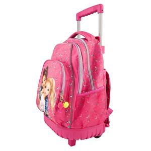 Рюкзак школьный на колесах Альпака, розовый TOPModel - 10360_A производства Depesche