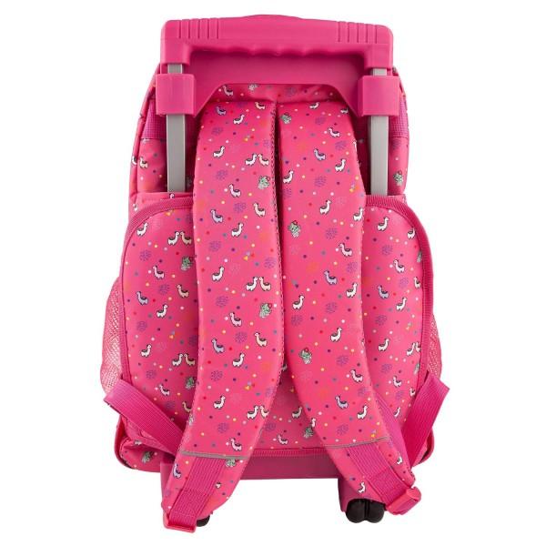 Рюкзак школьный на колесах Альпака, розовый TOPModel - 10360_A